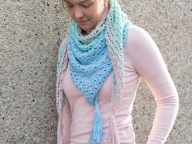 GRATIS patroon Unicorn Shawl