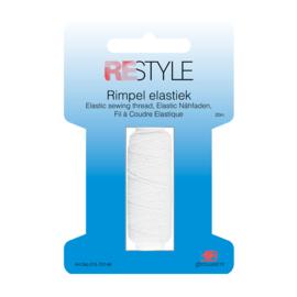 Restyle Rimpel Elastiek - Wit