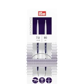 Rondbreinaalden Prym Ergonomics 80 cm 7,0 mm