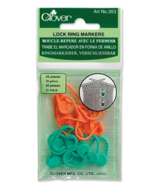 Clover Locking Ring Markers 20 stuks