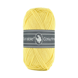 Durable Cosy Fine Light Yellow 309