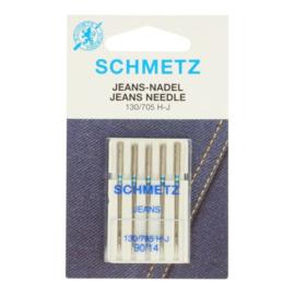 Schmetz Jeans 90/14 Naaimachine naalden