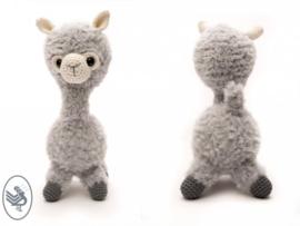 GRATIS patroon Alpaca Almina