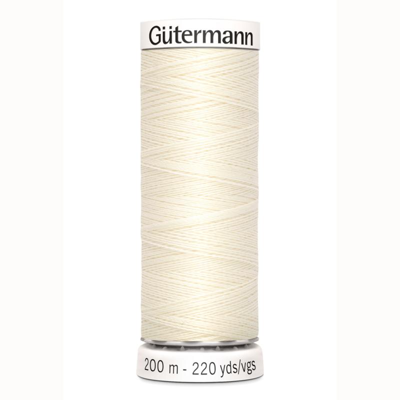 Gütermann Allesnaaigaren polyester 200 meter no. 1