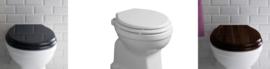 KSLOZ0006-8 wit, zwart en walnoot softclose toiletzitting voor KSLO901 en KSLO921
