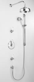 KSAS1843 klassieke inbouwthermostaat compleet