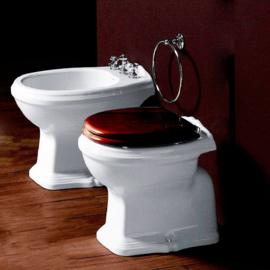 KSTA0007 Losse klassieke toiletpot AO achter onder aansluiting
