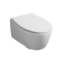 LFT004 Simas LFT Spazio toiletzitting soft close, wit