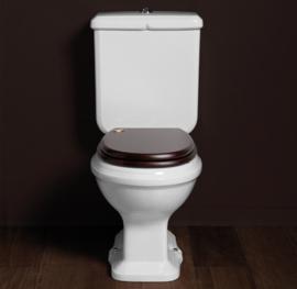 KSTA0002 Klassiek Duoblok toilet, muuruitlaat PK