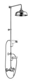 KSKA0022 Klassieke douchemengkraan set, doucheset met handdouche en met 20 cm douchekop