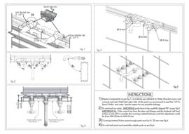 KSK0006A Klassieke inbouw mengkraan 200 mm, inbouw