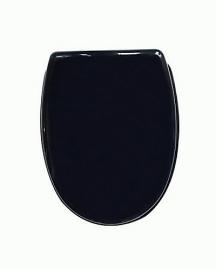 KSTZ0002 Toiletzitting Zwart / Chroom voor KSTA serie