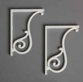 SLAMN metalen steunen tbv landelijke toilet SLA0106 en SLA0206