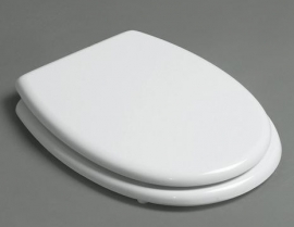 KSTZ01 Toiletzitting Wit / Chroom voor KSTA serie