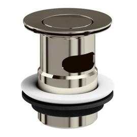 KSW001-NI flip afvoer nikkel