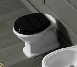 SLA001 losse klassieke toiletpot met achteronder aansluiting