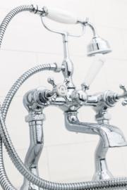 KSB0001 Dual klassiek vrijstaand gietijzeren bad op pootjes / badkuip