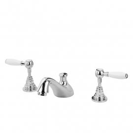 HOT0015 Delta, Landelijke badkamer driegats  wastafelmengkraan