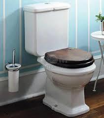 KSTZ05, toiletzitting voor KSTA, Arcade. Old England hout met soft close scharnieren chroom