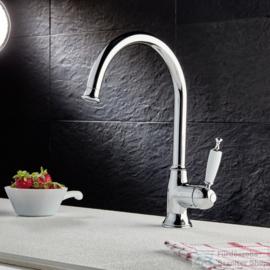 KSOX6-381 Klassieke staande keukenkraan chroom