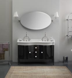 KSM 0024 Klassiek badkamermeubel 140cm met keramische wastafel in kleur
