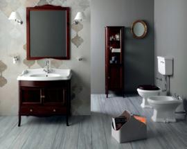 KSTA0003 Klassiek toilet met laaghangend reservoir, vloeruitlaat AO