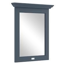 KSM0362B spiegel met lijst en toog 60cm Stiffkey blue