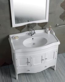 KSMAR 0011 Landelijk badkamermeubel 105 cm, incl. Arcade wastafel Old England