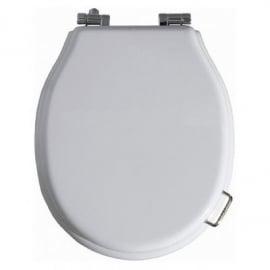 SLA002 Toiletzitting met deksel wit kunstof, SLA serie