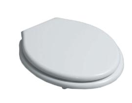 KSLOZ002-W Toiletzitting met deksel  wit