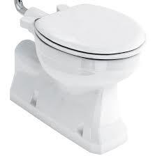 BUR019 losse toiletpot met AO achteronder aansluiting