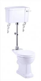 KST0008 Compleet klassiek toilet  met laaghangend reservoir
