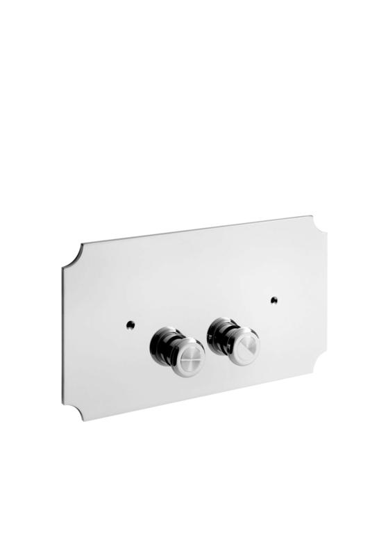 KSWP003 klassieke drukplaat chroom dual flush voor Geberit