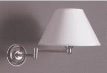 KSV0005 Muurlamp op zwenkarm Chrome
