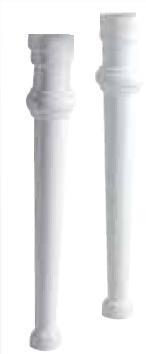 KSW0007 keramische poten voor de 91 en 106cm wastafels