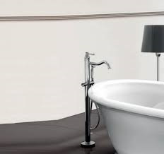 X-KSKA0051Nostalgische staande badmengkraan chroom