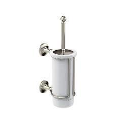 KSARCA8 klassieke toiletborstelhouder wandmodel nikkel