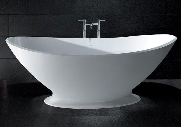 landelijke badkamer,  design vrijstaand ligbad