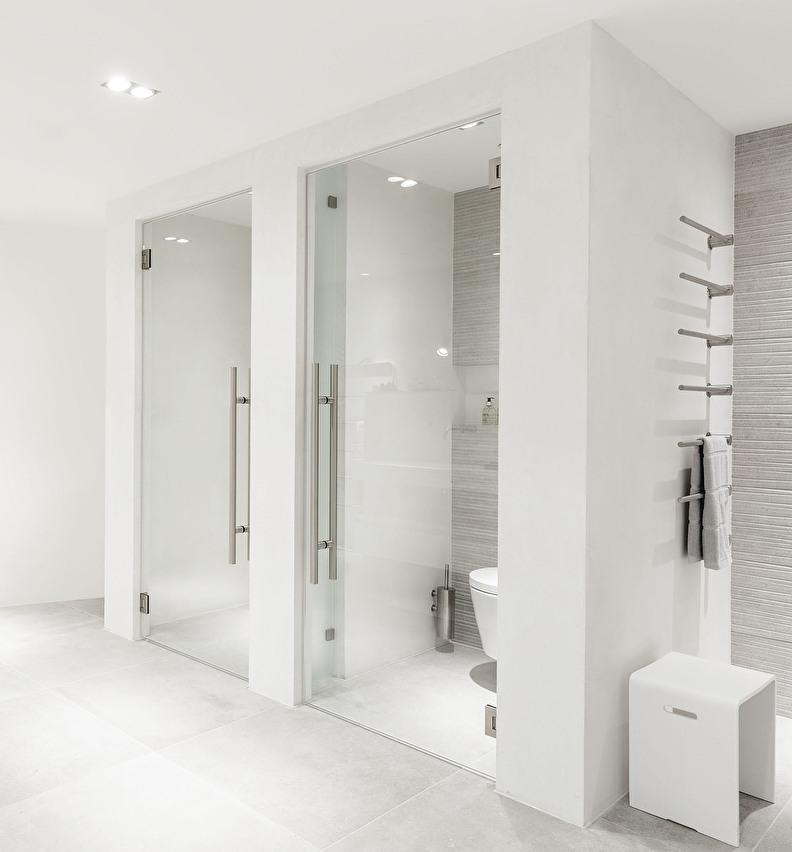 landelijke inloopdouche en douchedeuren op maat
