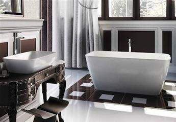 landelijke badkamers