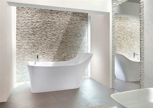 landelijke badkamers, inloopdouche, vrijstaand bad