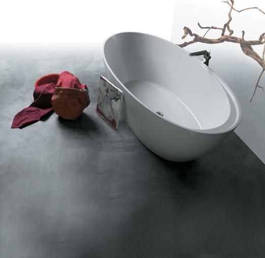 design royal ligbad zonder poten