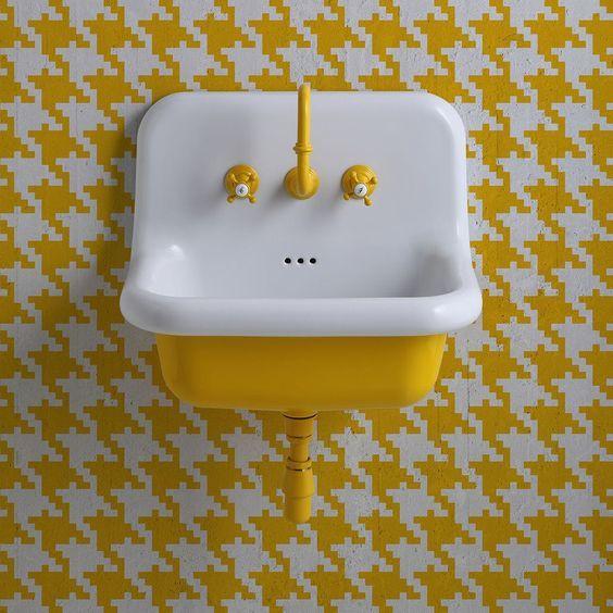 badkamer van princess Annabelle, wastafel