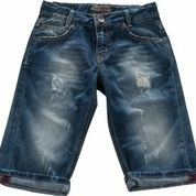 "Jeansbermuda ""Destroyed"""