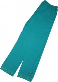 Groene legging met strass