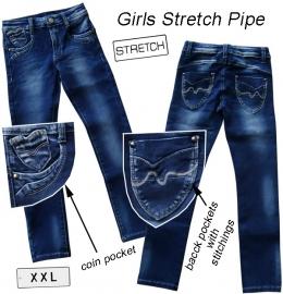 "donkerblauwe jeans ""Julia"""