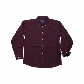 """Overhemd """"Forrest"""" Wijnrood"""