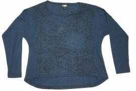"""Shirt """"Helena"""" blauw/zwart"""