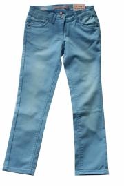 Lichtblauwe  5-pocket zomerbroek
