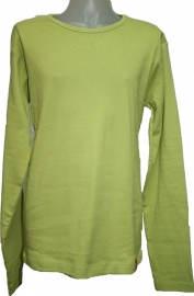 Basic longsleeve Lime